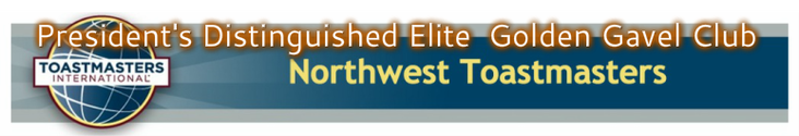 NORTHWEST Select Distinguished TOASTMASTERS Club